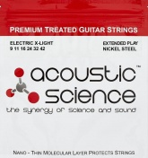 AcousticScience 9-42 NICKEL Струны для электрогитары