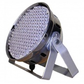 Flash LED PAR 64 186х10 RGBW DMX Silver Прожектор